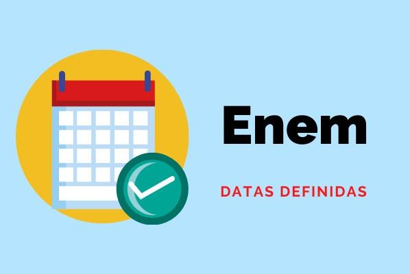 ENEM 2022 Datas