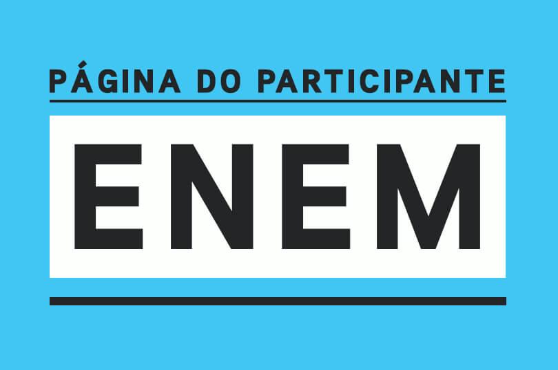 Enem Página do Participante 2022